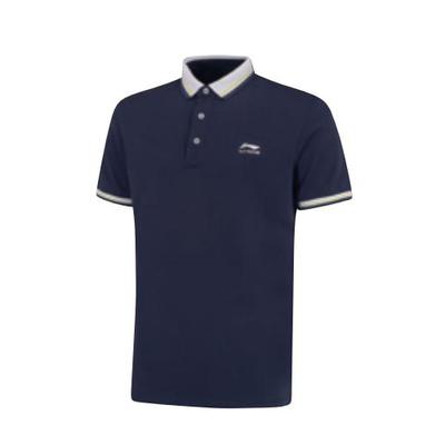 李宁正品 新款 男子运动短袖POLO衫 APLP165