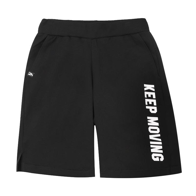安踏男裤短裤2020夏季新款KEEP针织五分裤薄透气训练裤152028308