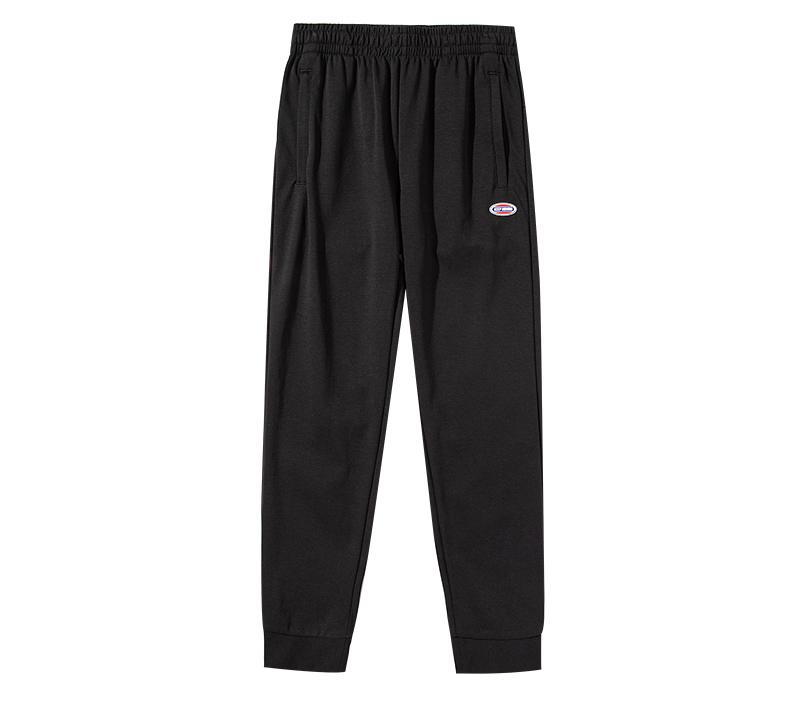 安踏运动男卫裤2020夏季新款薄弹力收脚口休闲针织长裤152028311