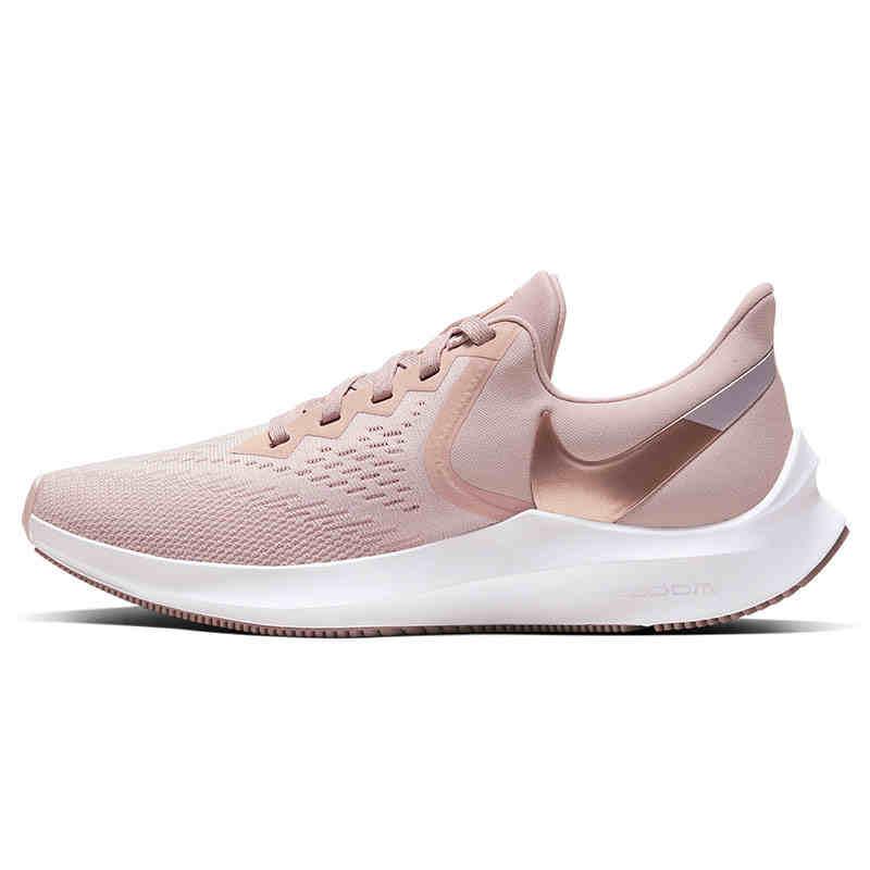 Nike耐克女鞋2020春新款Zoom Winflo 6气垫运动跑步鞋AQ8228-200