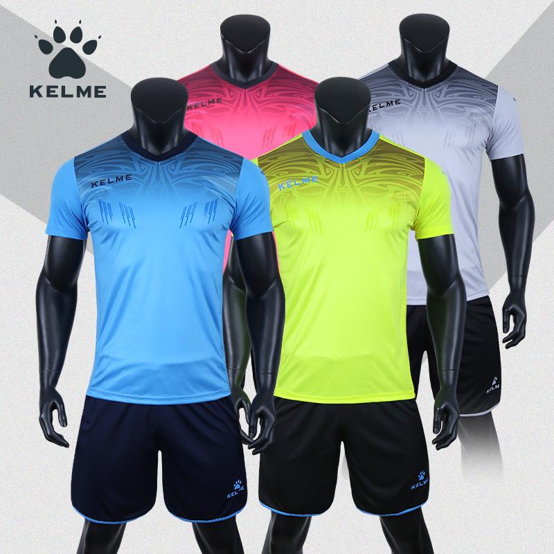 kelme卡尔美足球服守门员服短袖套装官方正品比赛训练定制门将服3871014