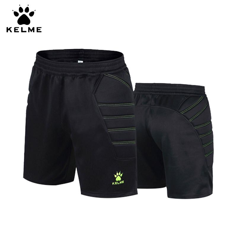 卡尔美 kelme 足球守门员中裤 成人儿童门将装备训练龙门裤带护侧K15Z408
