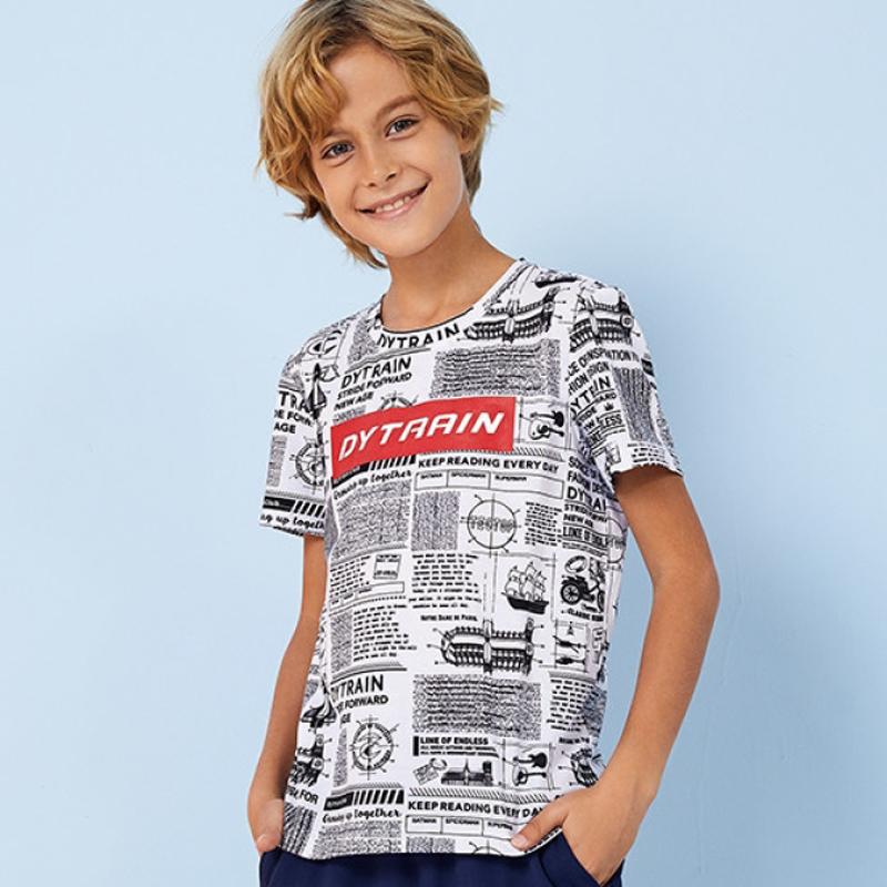 探拓户外夏季儿童运动快速干短袖t恤200773TX/200597TX