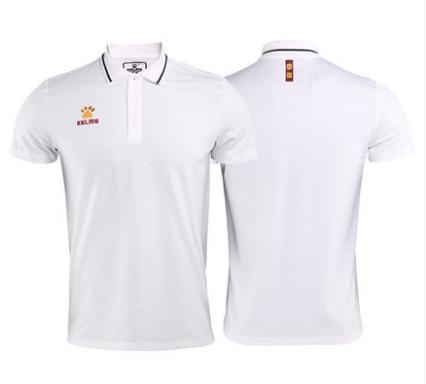 KELME卡尔美正品 2019中国运动休闲短袖POLO衫 纪念版系列POLO衫3891575