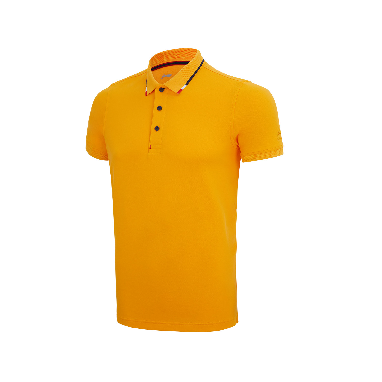 李宁APLQ116-1-2-3-4  团购269商务珠地拉架短袖polo标准白、深邃蓝、子橙黄、杏粉色