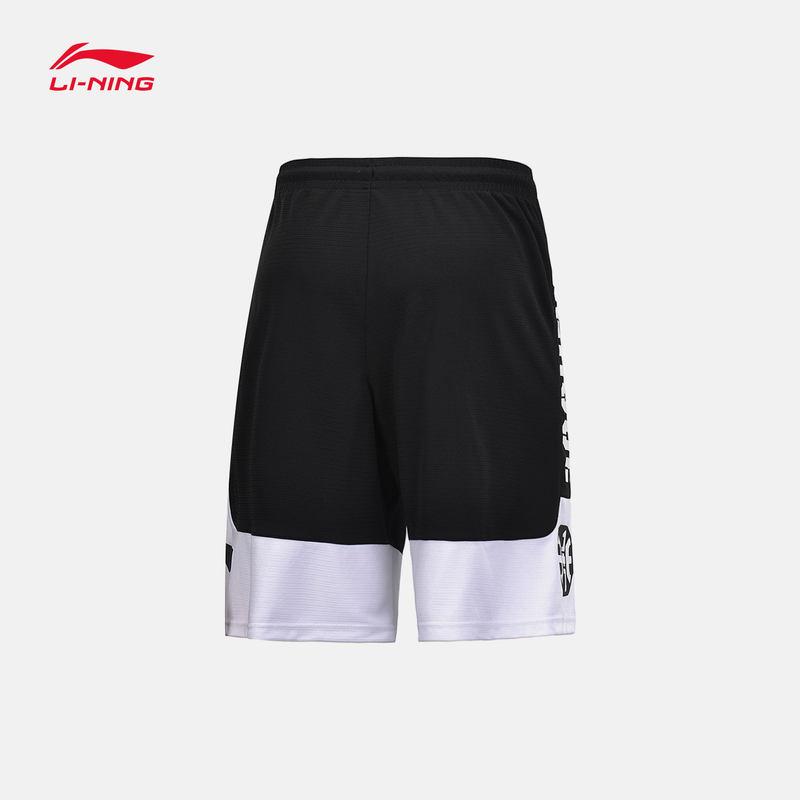 李宁正品 夏季新款 男子运动短裤 宽松速干透气运动裤 AAPP017
