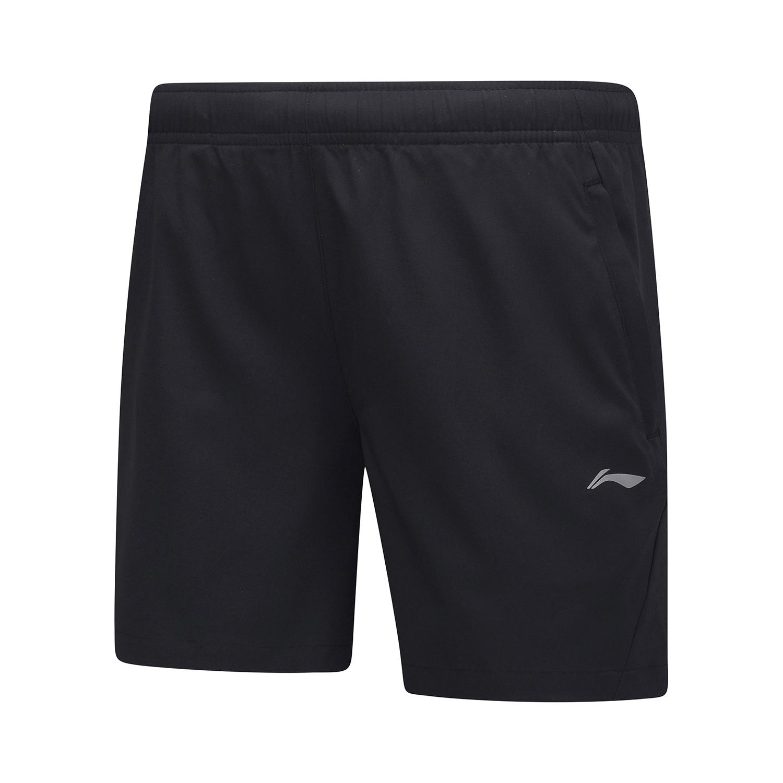 李宁AKSP551-1  团购159运动短裤黑色