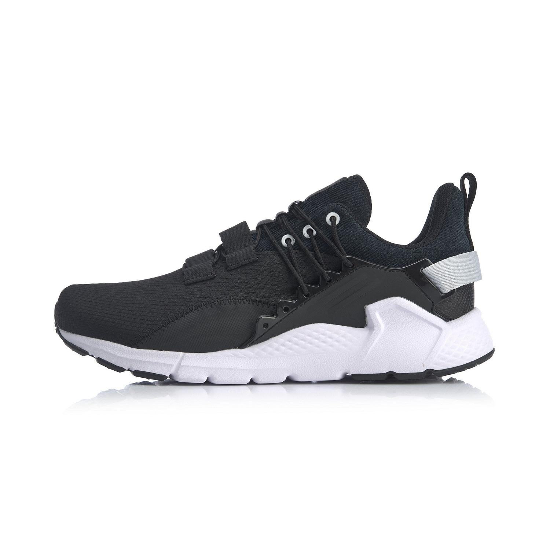李宁AGLQ017-1  标准黑/硬币灰 男潮流休闲鞋