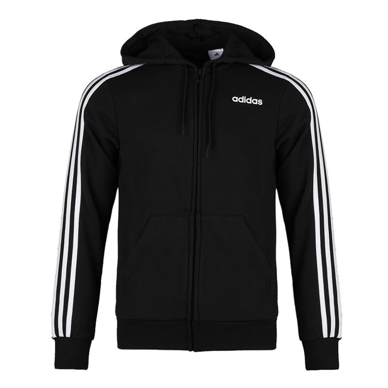 Adidas阿迪达斯男装 新款正品运动休闲连帽夹克外套 DQ3102
