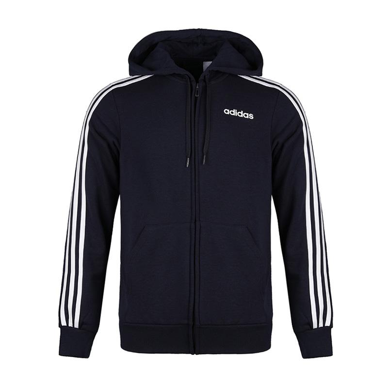 Adidas阿迪达斯男装新款正品运动休闲防风夹克外套DU0471