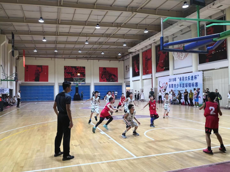2018年东莞少年篮球锦标赛