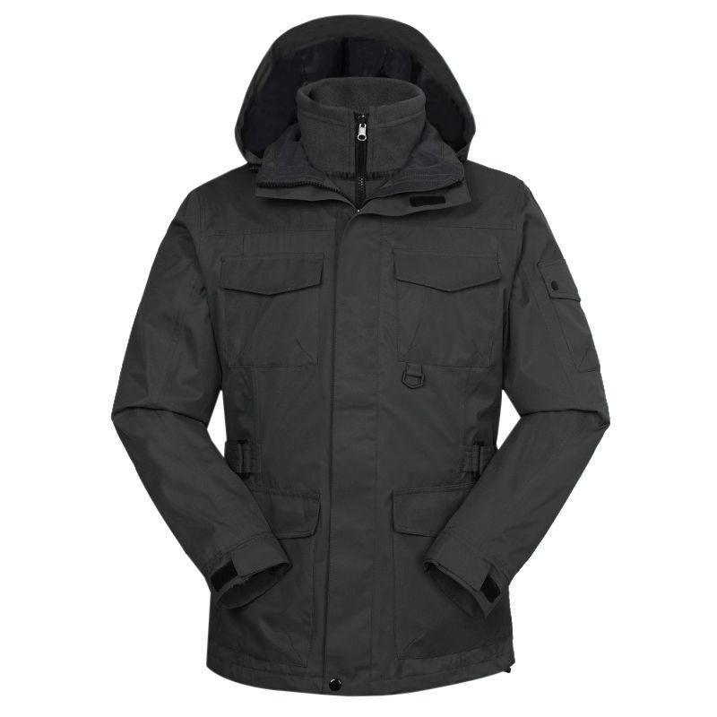 TOURMARK 男装 2020冬季新款运动外套防风三合一冲锋衣 D24110-07
