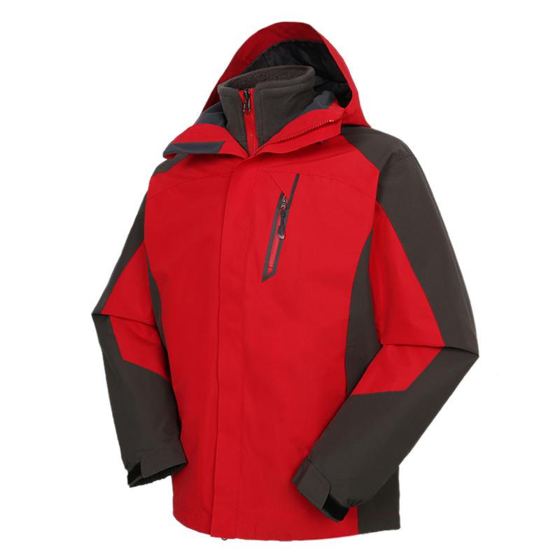 Tourmark 男装 2020秋冬新款户外防风保暖运动休闲冲锋衣 D24106-11