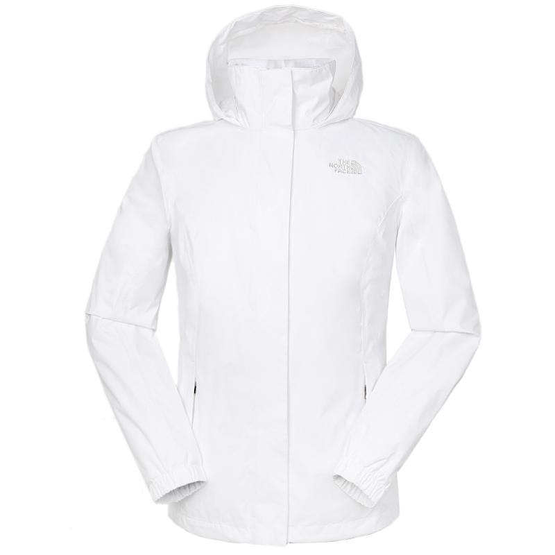 TheNorthFace北面4U5G冲锋衣女2021春季新款长袖连帽外套防风运动夹克