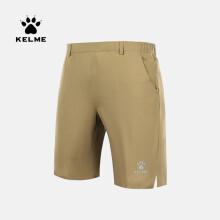 KELME卡尔美 运动训练针织五分裤男士夏季新款薄款休闲松紧系带短裤宽松 8153DK1001