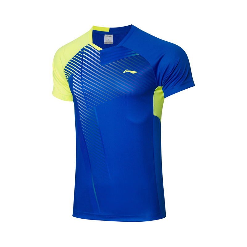 【2021新品】李宁羽毛球男子速干凉爽运动服专业比赛上衣AAYR199