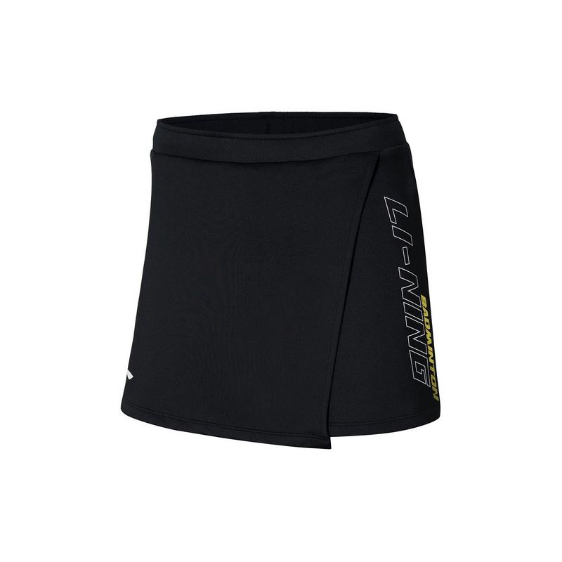 【2021新品】李宁羽毛球女子吸汗舒适运动短裙比赛裙裤ASKR014