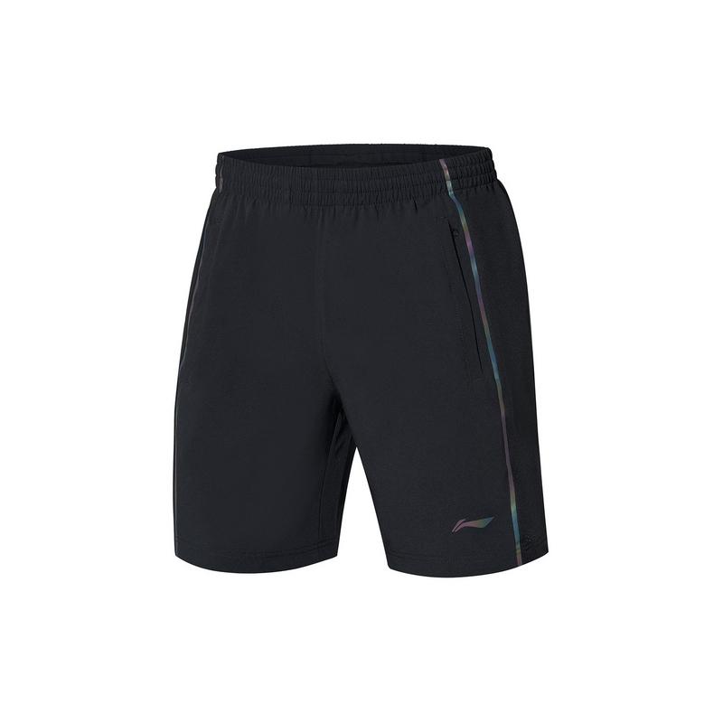 【2021新品】李宁羽毛球系列男子速干凉爽专业比赛短裤AAPR073
