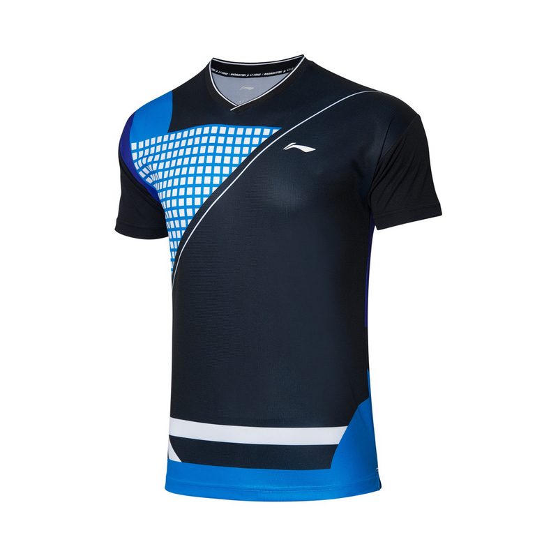 【2021新品】李宁羽毛球男子速干凉爽运动服专业比赛上衣AAYR201