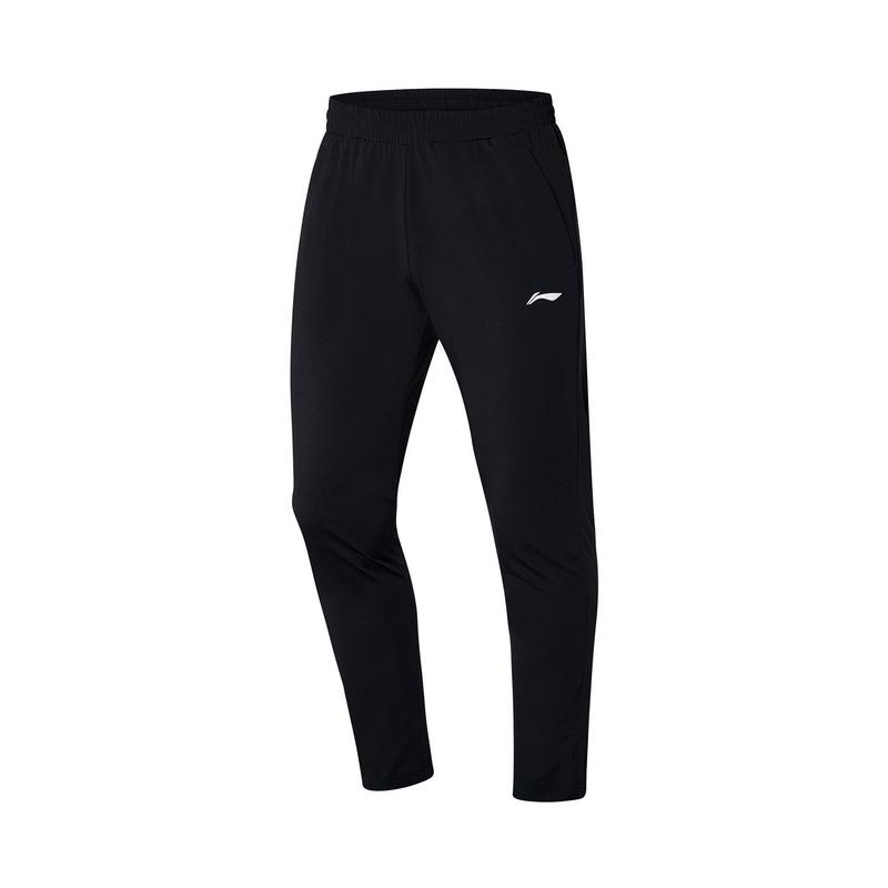 【2021新品】李宁羽毛球系列男子速干运动长裤舒适卫裤AKLR129