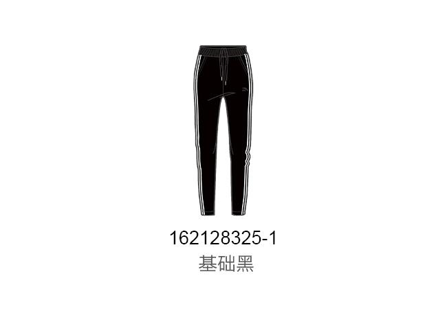 安踏正品女裤2021夏新款收口休闲跑步潮运动针织九分裤162128325