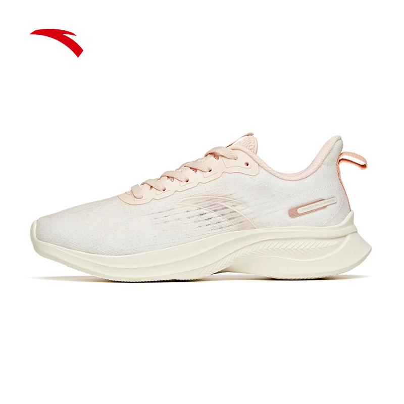 安踏女鞋跑步鞋 2021夏季新款软底运动鞋女122125570