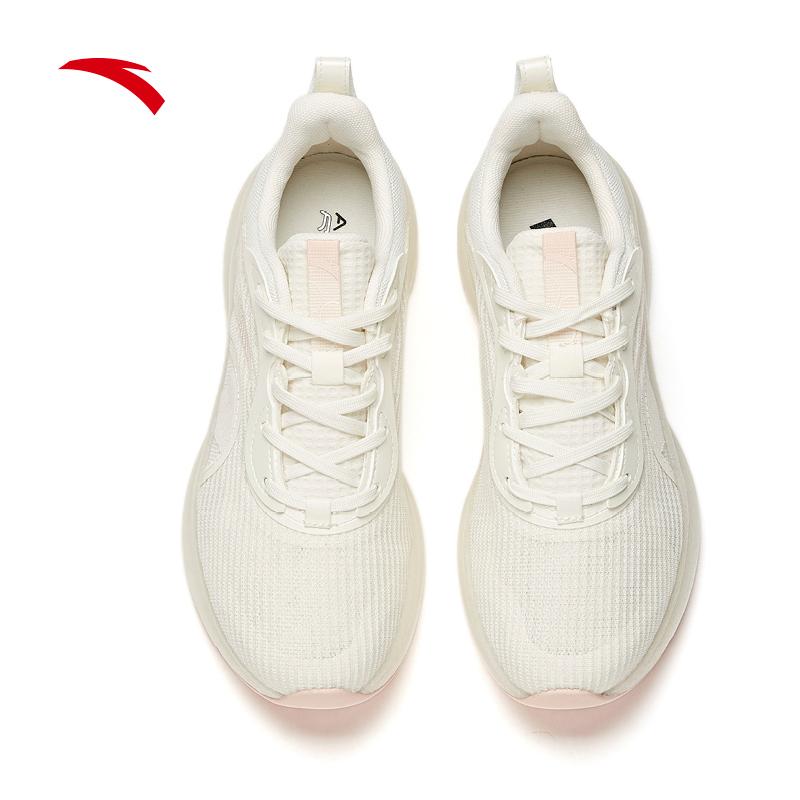 安踏跑步鞋女2021新款网面透气运动鞋122125520