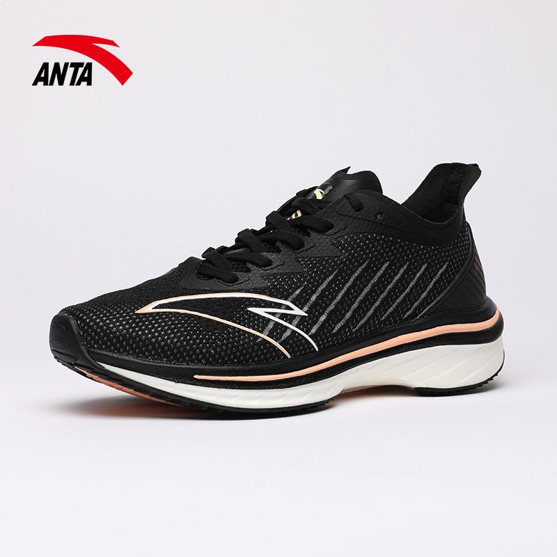 安踏女鞋运动鞋2021新款舒适轻便耐磨旅游休闲鞋子122125586