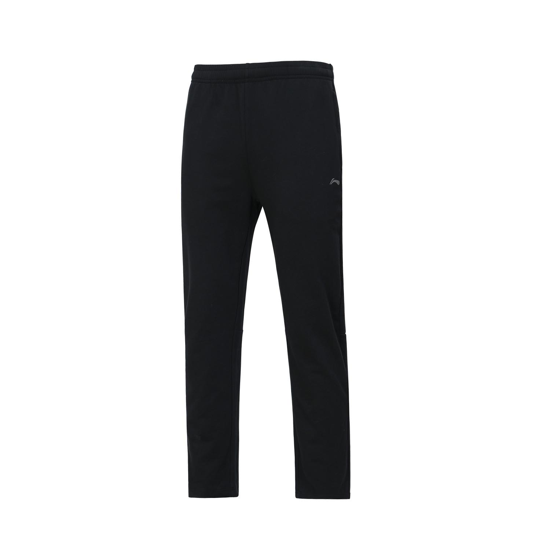 李宁 AKLR147-1  黑色 团购 男 卫裤