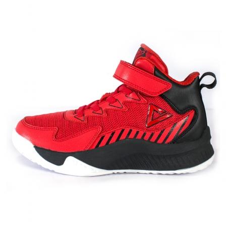 匹克PEAK 儿童大童篮球鞋 EK0105A-大红-黑色