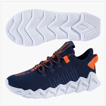 匹克PEAK 运动生活鞋子 男女情侣款 健步鞋 TE94697E-深蓝-黑色/大白 TE94698E-粉紫-黑色/大白