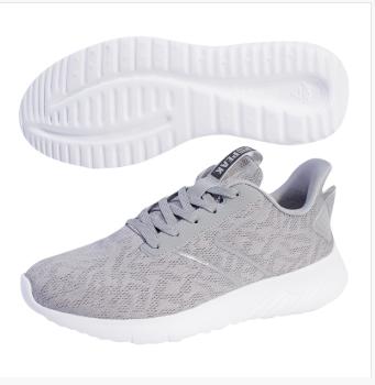 匹克PAEK 运动生活鞋子 男女情侣款 健步鞋 TE93707E-银灰-黑色/大白、TE93708E-大白-黑色/大白