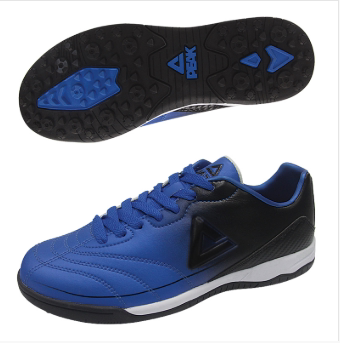 匹克PAEK 足球鞋子 童 足球鞋 E54050F-彩蓝/黑色-黑色/荧光激红-荧光黄/黑色