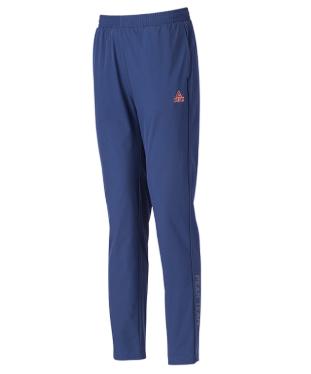 匹克PAEK 户外服装 男 梭织单裤 户外长裤 TFB73187-深蓝-黑色