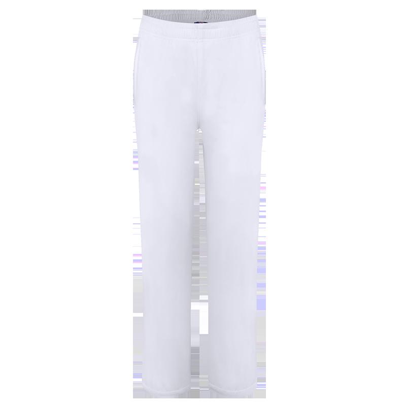 巴特侬运动裤男女休闲裤子白色直筒大码梭织长裤团体广场春秋冬 W9852、M9851-黑色-白色