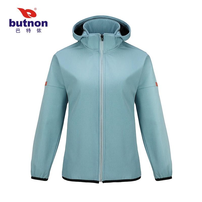 巴特侬butnon男女士梭织运动风衣户外防水透气保暖  W0604、M0603-青绿-花青-金橙