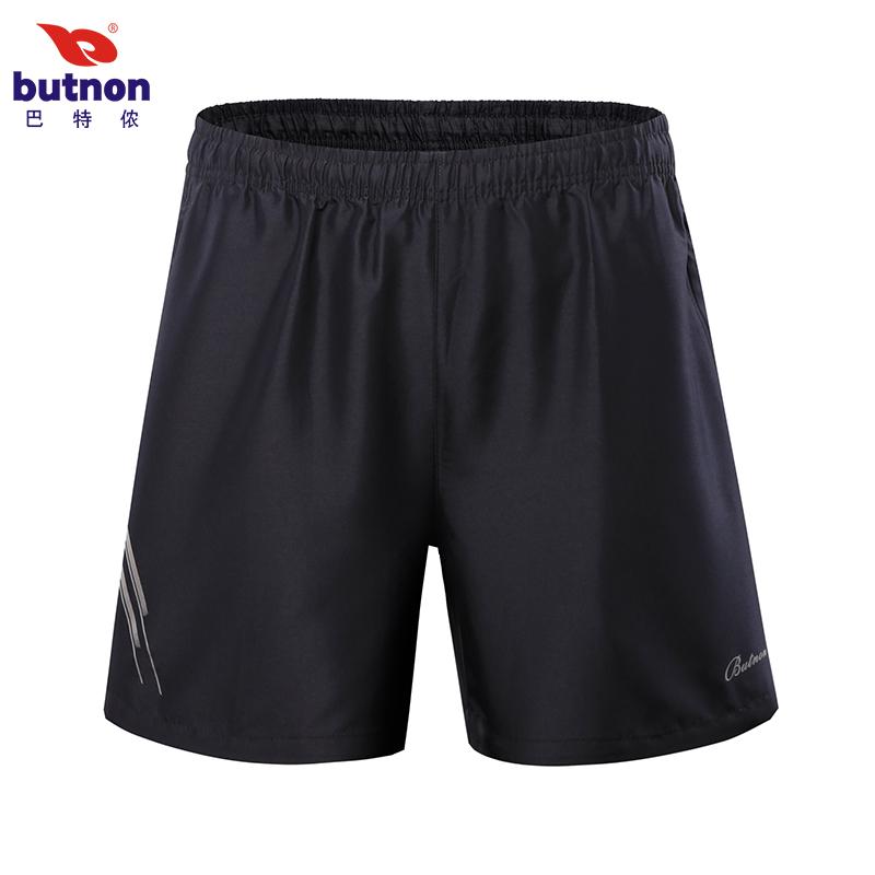 巴特侬夏季新品运动短裤三分裤乒乓球羽毛球速干短裤男女同款 RS-8369-宝蓝