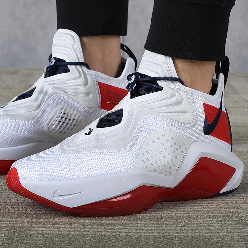 Nike耐克正品2020秋季运动中帮实战篮球鞋CK6047-100