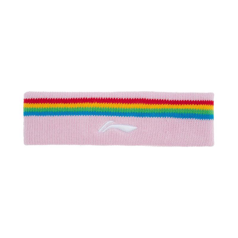李宁羽毛球系列 男女运动发带吸汗舒适头戴护头束发带AQAQ064-1-2-3-4