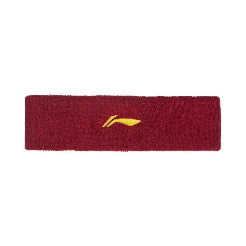 李宁羽毛球系列 男女运动发带吸汗舒适头戴护头束发带AQAQ062-1-2-3-4