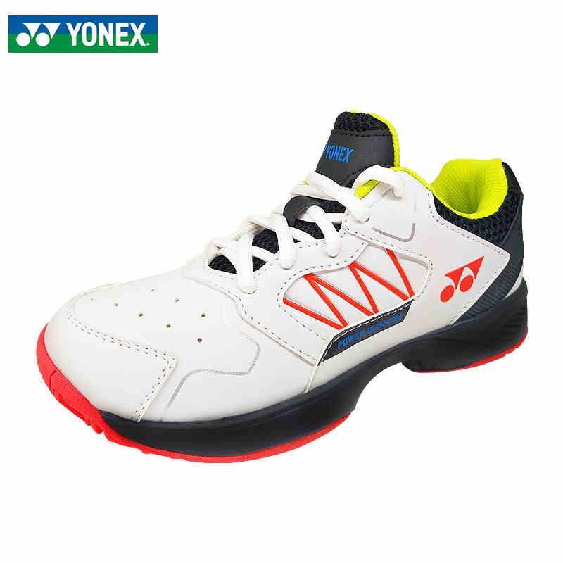 2021新品YONEX尤尼克斯儿童羽毛球鞋男童女网球鞋运动鞋 SHTLUJEX-白/黑