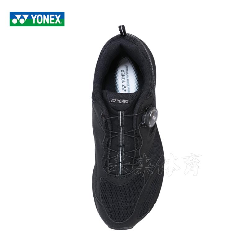 2019新款尤尼克斯正品羽毛球鞋男旋钮款YY专业透气超轻 SHR900CEX-黑-浅灰