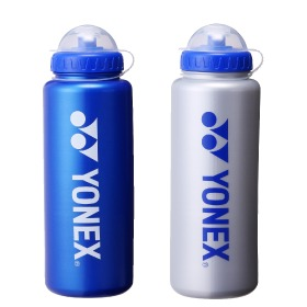 YONEX尤尼克斯YY羽毛球运动水壶yy大容量1L户外网球骑行  AC588EX-蓝色-银色