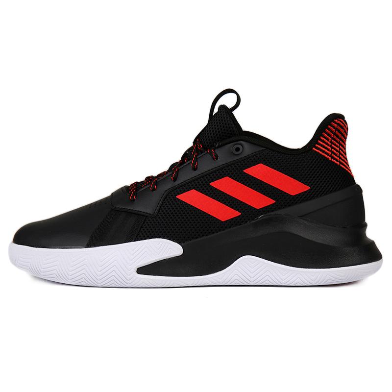 Adidas阿迪达斯 篮球鞋男鞋2021夏季新款防滑耐磨缓震运动鞋 EF1022
