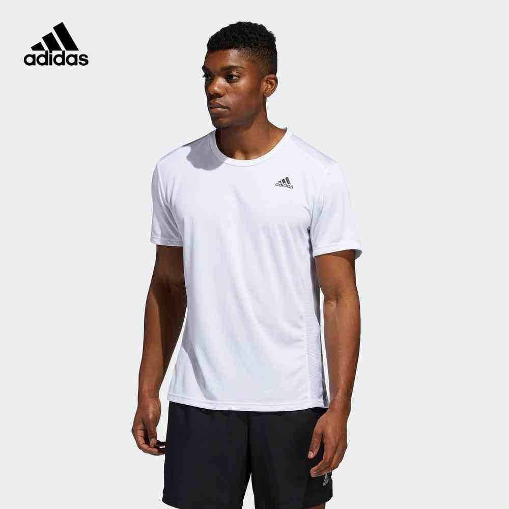 阿迪达斯 adidas 男装夏季跑步运动短袖T恤 ED9292