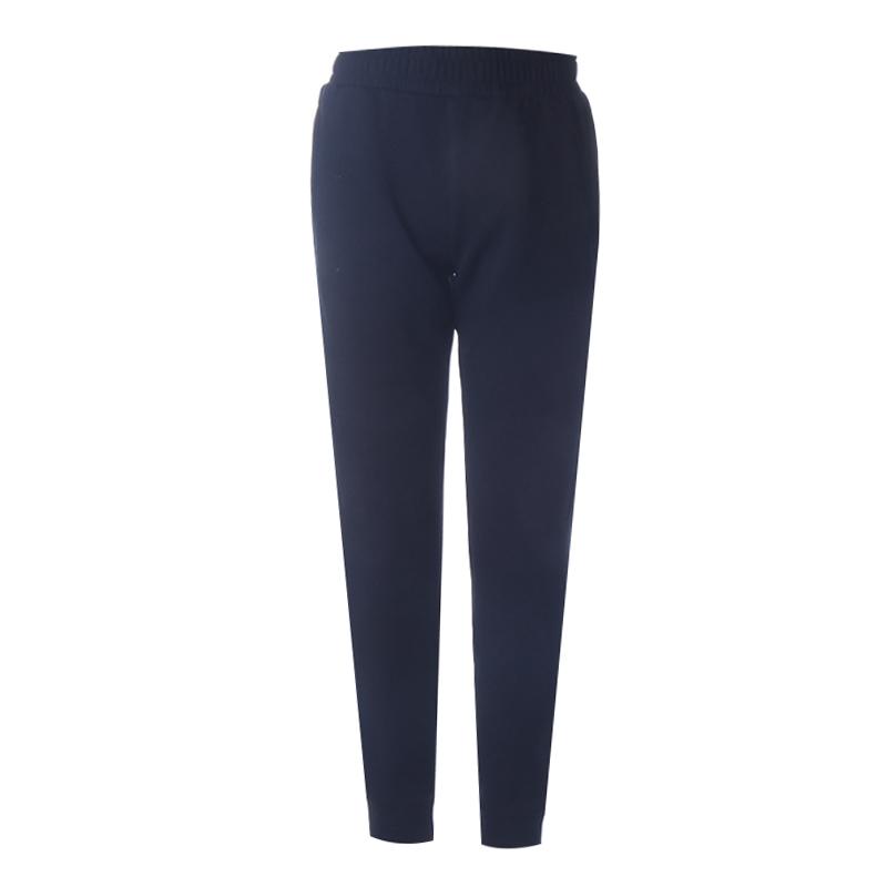 安踏夏季女式针织黑色常规运动长裤 162117316-2-黑色