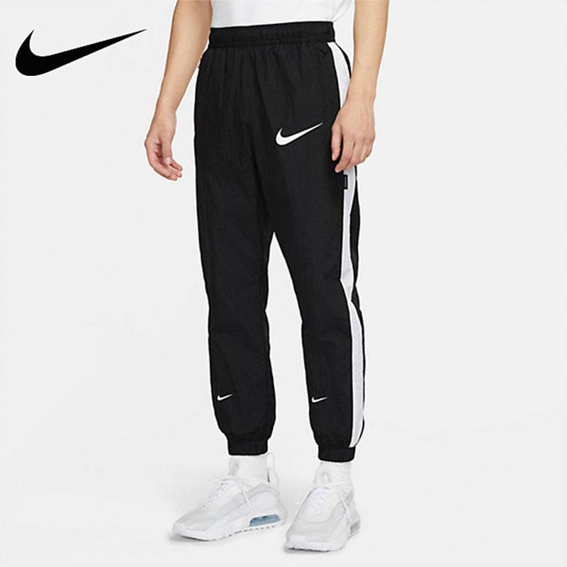 NIKE耐克男裤 2021夏季新款跑步健身训练宽松运动裤透气梭织休闲小脚长裤 DJ4133-010