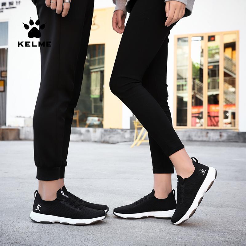卡尔美 团购休闲情侣鞋透气防滑运动鞋百搭一脚蹬跑步鞋 66831502、66832502-000-416-100