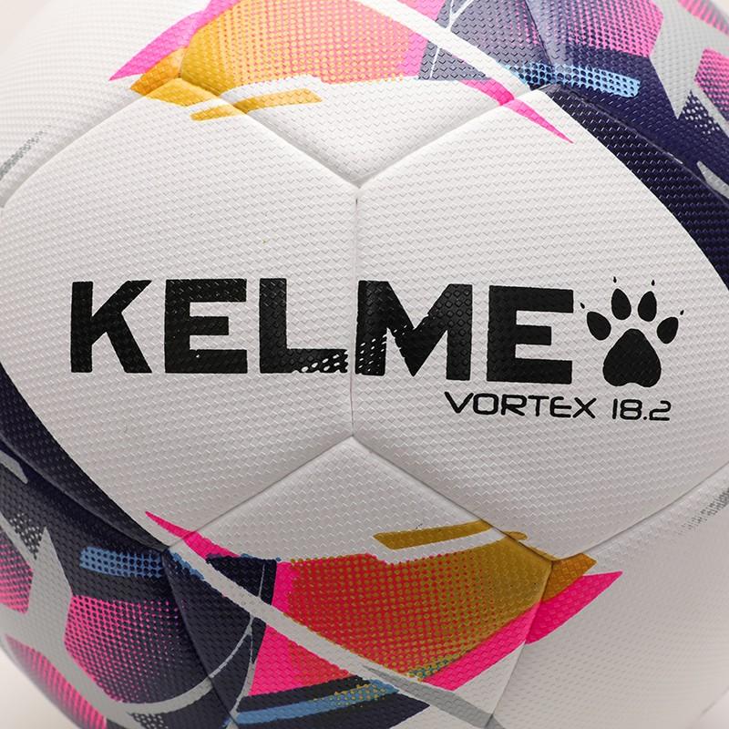 KELME卡尔美2021年新款足球5号4号青少年学生中考训练比赛成人用球贴皮耐磨8101QU5001 白荧光蓝、深蓝红、白荧光绿、荧光黄