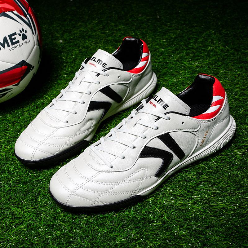 KELME卡尔美足球鞋男夏季新款碎钉(TF)系带青少年比赛训练鞋ZX80011017 黑/白 、宝蓝、白/红